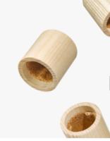 Pujolasos lance un capot 100% naturel et compostable pour flacons de parfums