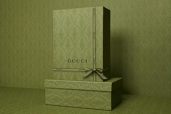 Un packaging éco-conçu signé Gucci